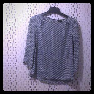 3/4 Length Sleeve Classic Blouse